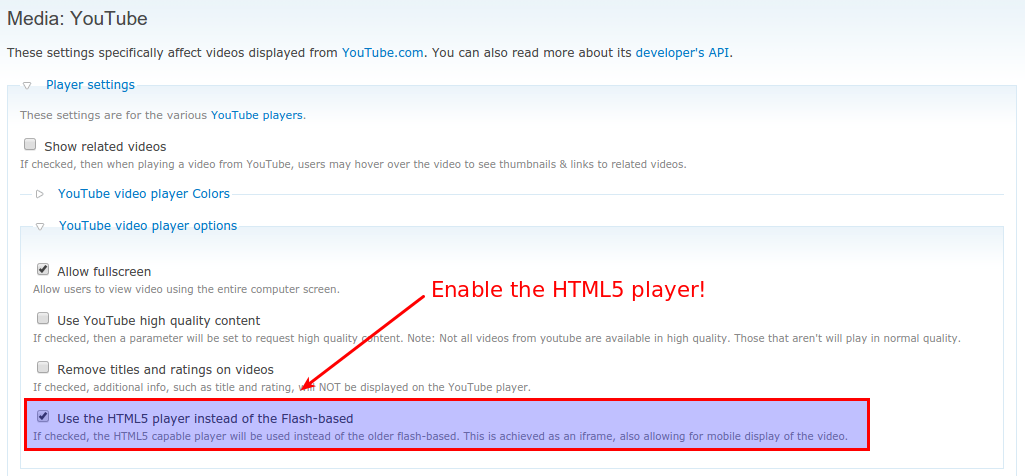 YouTube videos stop working on your Drupal 6 site? Here's the fix