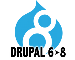 Drupal 6 to 8 Upgrades!