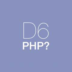 Which PHP version should be used for Drupal 6?